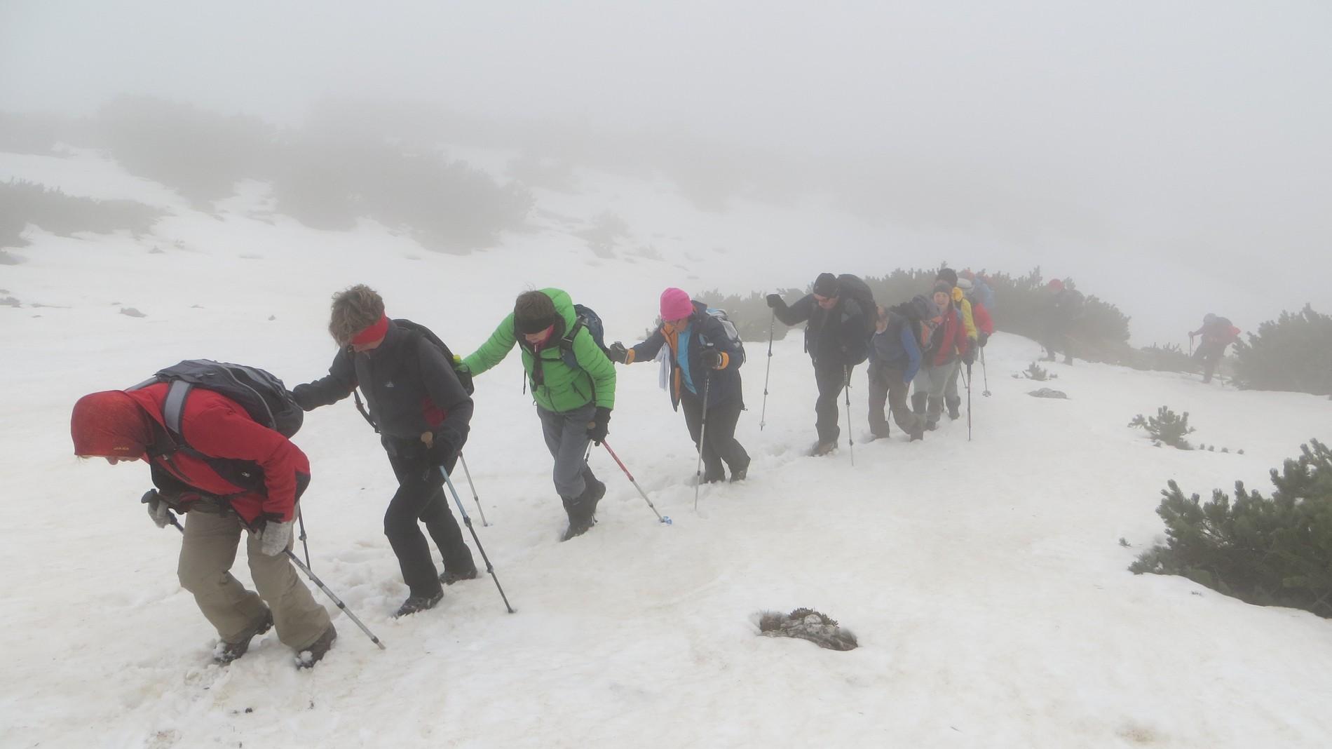 Srednji vrh in Hudičev boršt